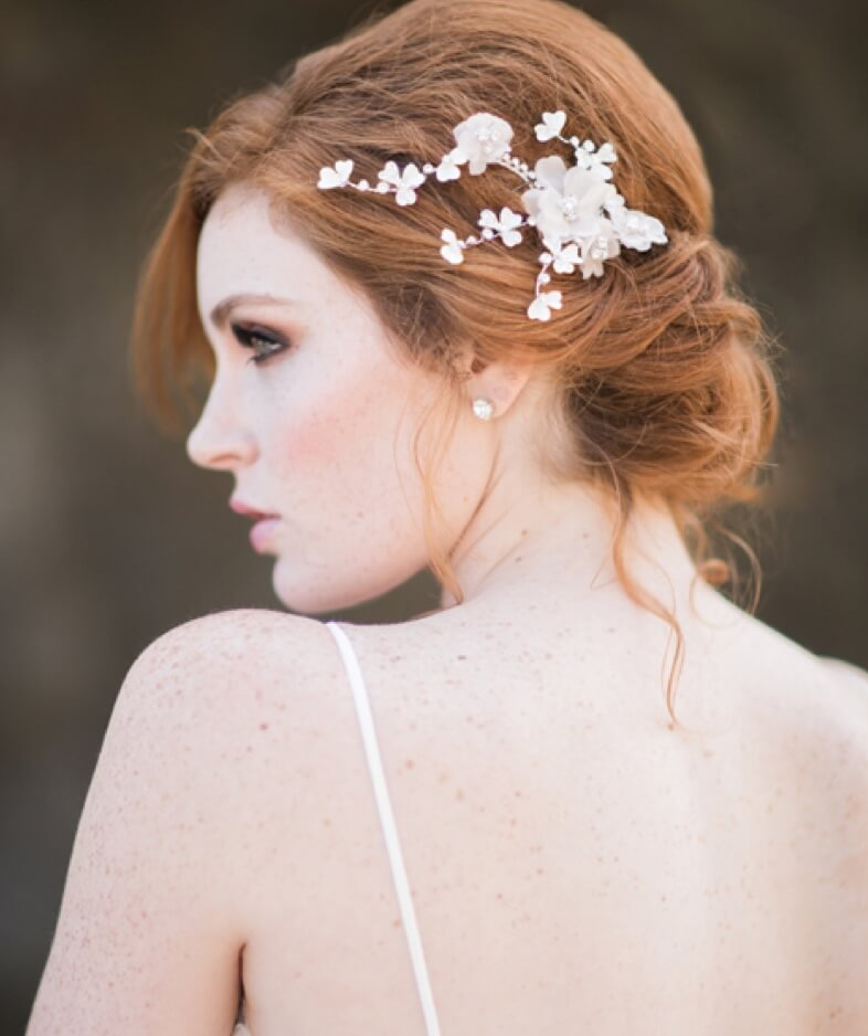 Models wearing The Exquisite Bride accessories